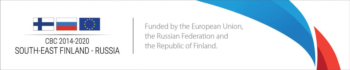 CBC 2014-2020 South-East Finland - Russia, funded by the European Union, the Russian Federation and the Republic of Finland