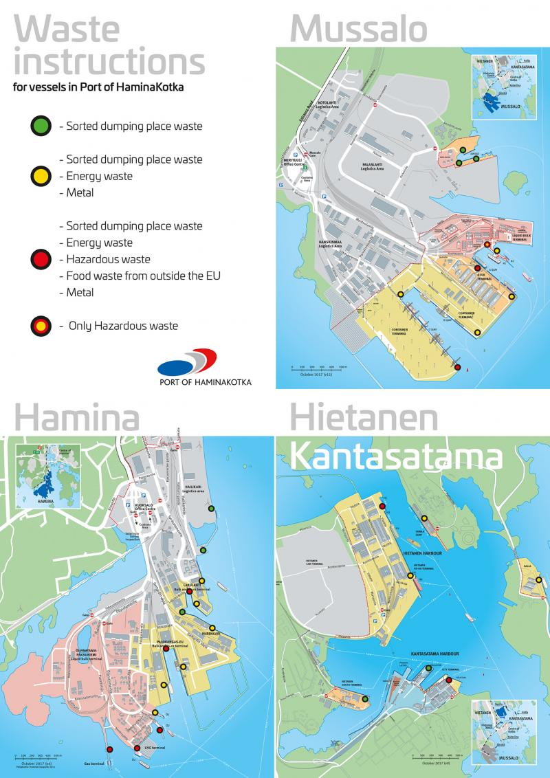 HaminaKotka waste maps 28102017