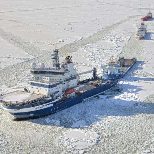 Port of HaminaKotka frontpage main image ice breaker