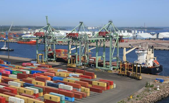 Port of HaminaKotka Services Container Terminal